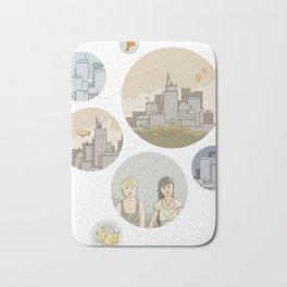 Some cities, a story Bath Mat