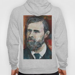 BRAM STOKER - watercolor portrait.2 Hoody