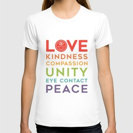 Rainbow Words T-shirt