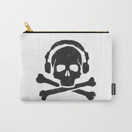 Pirate Music Wht Carry-All Pouch