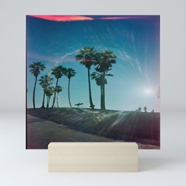 The solo surfer Mini Art Print