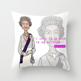 Seen To Be Believed Throw Pillow