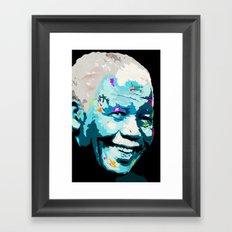 Mandela Freedom Framed Art Print