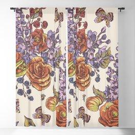 Flowers8554 Blackout Curtain