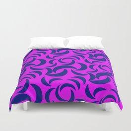 Many Moons - Purple Duvet Cover