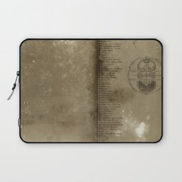 Declaration, a antique paper texture that would look great on a case of any kind. Artist recommends  Laptop Sleeve