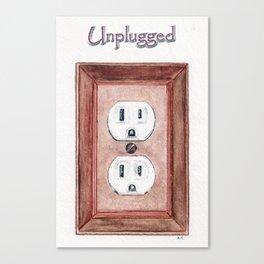 Unplugged Canvas Print