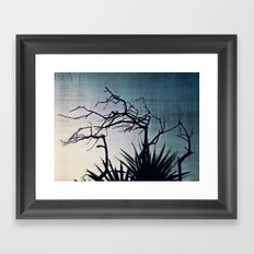 Waiting for Sandy Framed Art Print