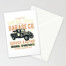 Vintage truck - Awesome vintage truck lover Gift Stationery Cards