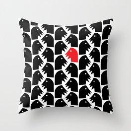 Texture Experiments #1 Throw Pillow
