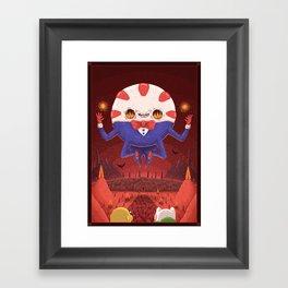 Peppermint Butler: Ruler of the Nightosphere Framed Art Print