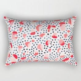 Salmon Run Rectangular Pillow