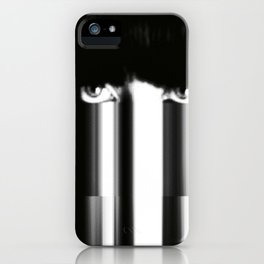 ... and the rain came down. iPhone Case