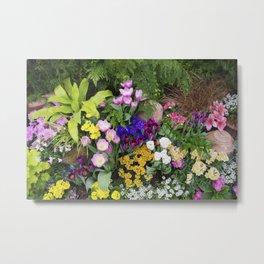 Floral Spectacular - Spring Flower Show Metal Print