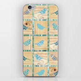 Birds On Parade iPhone Skin