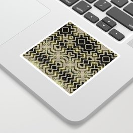 Tribal Gold Glam Sticker