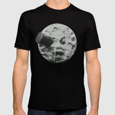 Georges Méliès A Trip To The Moon LARGE Black Mens Fitted Tee