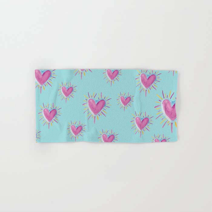 Love Sweet Love Hand & Bath Towel