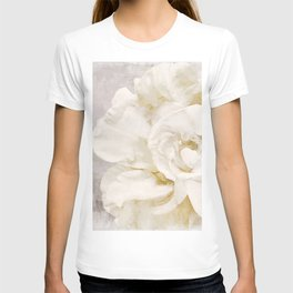 Petals Impasto Alabaster T-shirt