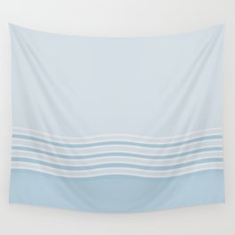 Sea Breeze Calming Blue Wall Tapestry