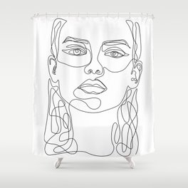 In Perfect Shower Curtain