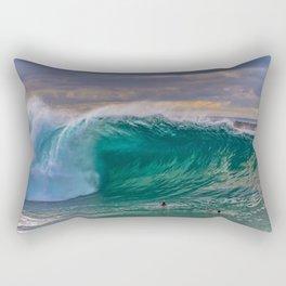 Empty Wedge Cavern Rectangular Pillow