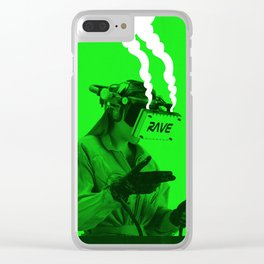 VR Rave Clear iPhone Case
