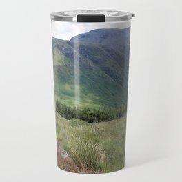 A view of Ben Nevis, Scotland Travel Mug
