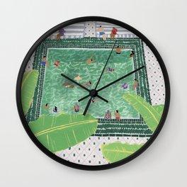 Green Riad Wall Clock