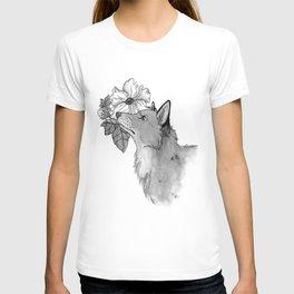 Flower Fox T-shirt