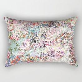 Clermont-Ferrand map Rectangular Pillow