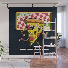 Pizza Run Wall Mural