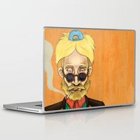 arnold Laptop & iPad Skins featuring Arnold  by Brian Oscar