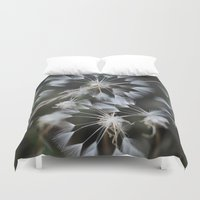 coconut wishes Duvet Covers featuring Wishes  by A Wandering Soul