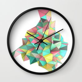 Origami II Wall Clock