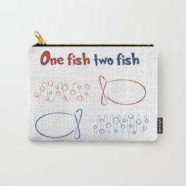 One Fish Two Fish Redshift Blueshift Carry-All Pouch
