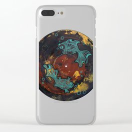 Two Lost Souls Clear iPhone Case