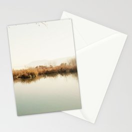 Autumn Lake Scene Stationery Cards