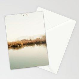 Autumn Lake Scene Stationery Cards