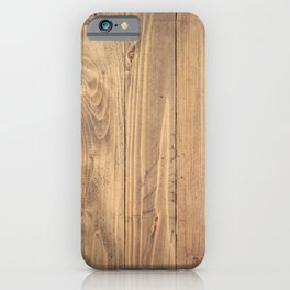 Wooden Background iPhone Case