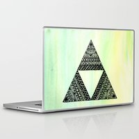triforce Laptop & iPad Skins featuring Triforce by Leonnie's Art