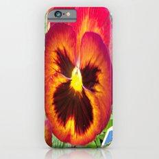 Pretty Pansy Slim Case iPhone 6s