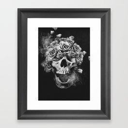 SKULL & ROSES I Framed Art Print