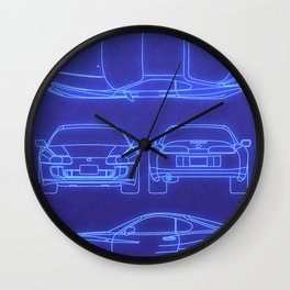Supra Mk4 Wall Clock