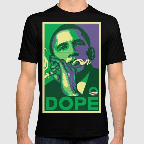 the dopest president T-shirt