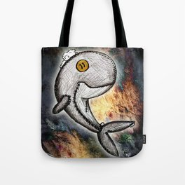 Woody the Whale Tote Bag