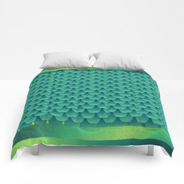 Green Dragon Scales Comforters