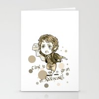 chibi Stationery Cards featuring Chibi Bilbo by KuroCyou