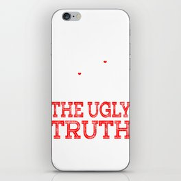 Wear a unique and naughty tee design that will totally complete your day! Grab it now!Nice gift too! iPhone Skin