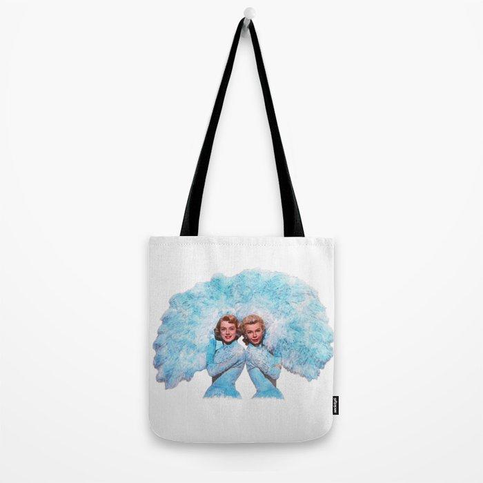 Sisters - White Christmas - Watercolor Tote Bag